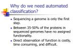 why do we need automated classification