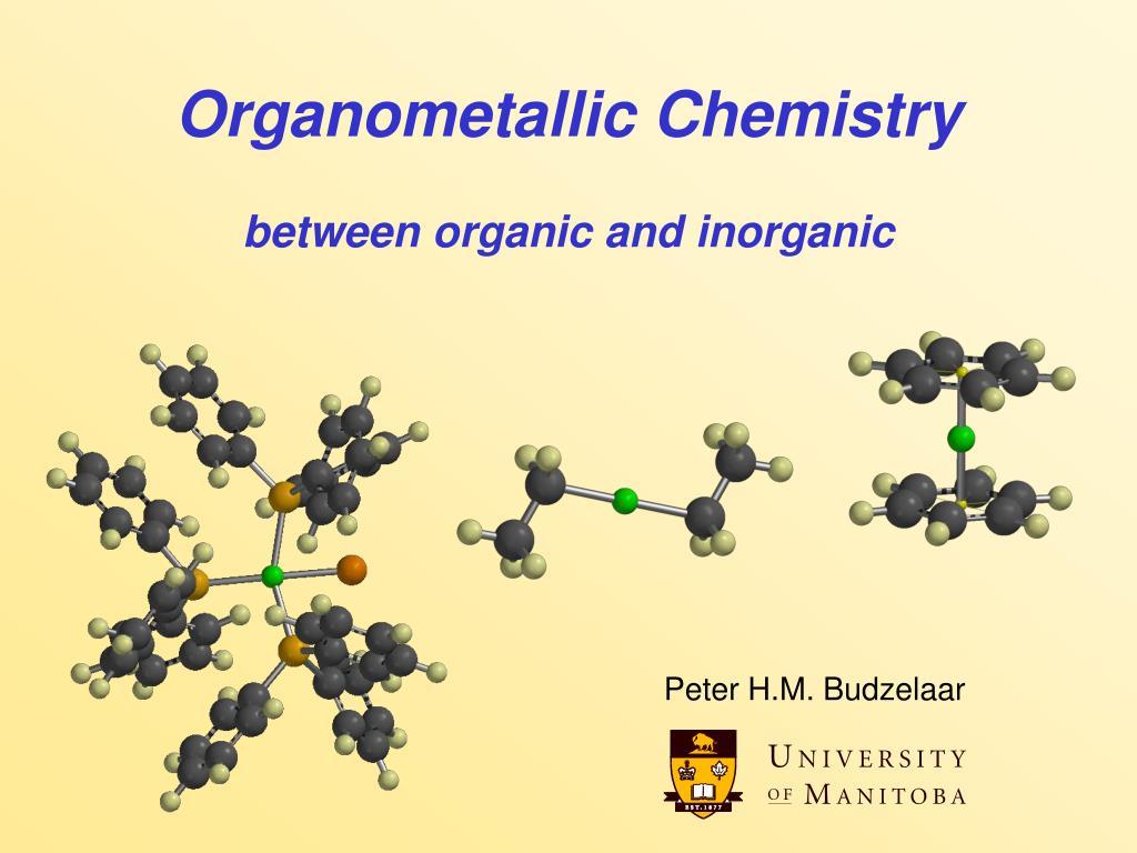 organometallic chemistry between organic and inorganic l.