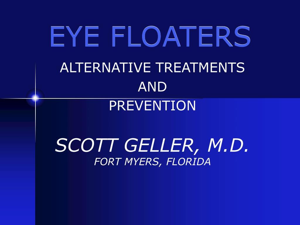 eye floaters l.