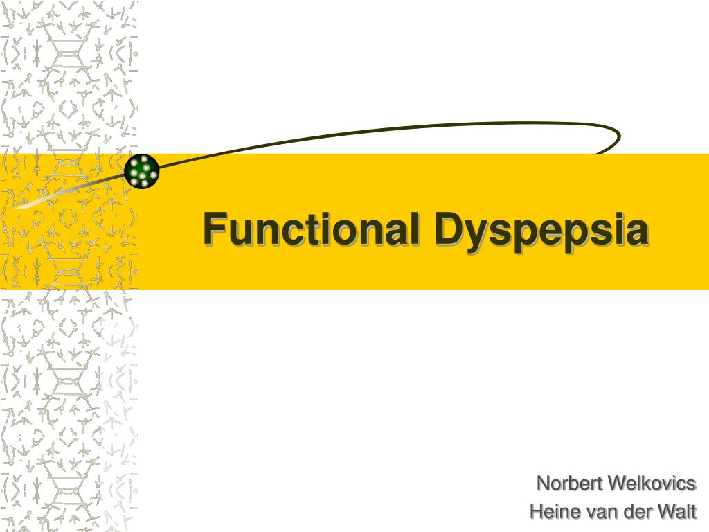 functional dyspepsia l.