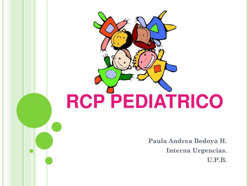 rcp pediatrico l.