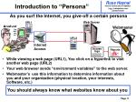 introduction to persona