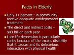 facts in elderly