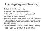 learning organic chemistry