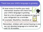 track how your child s language is growing