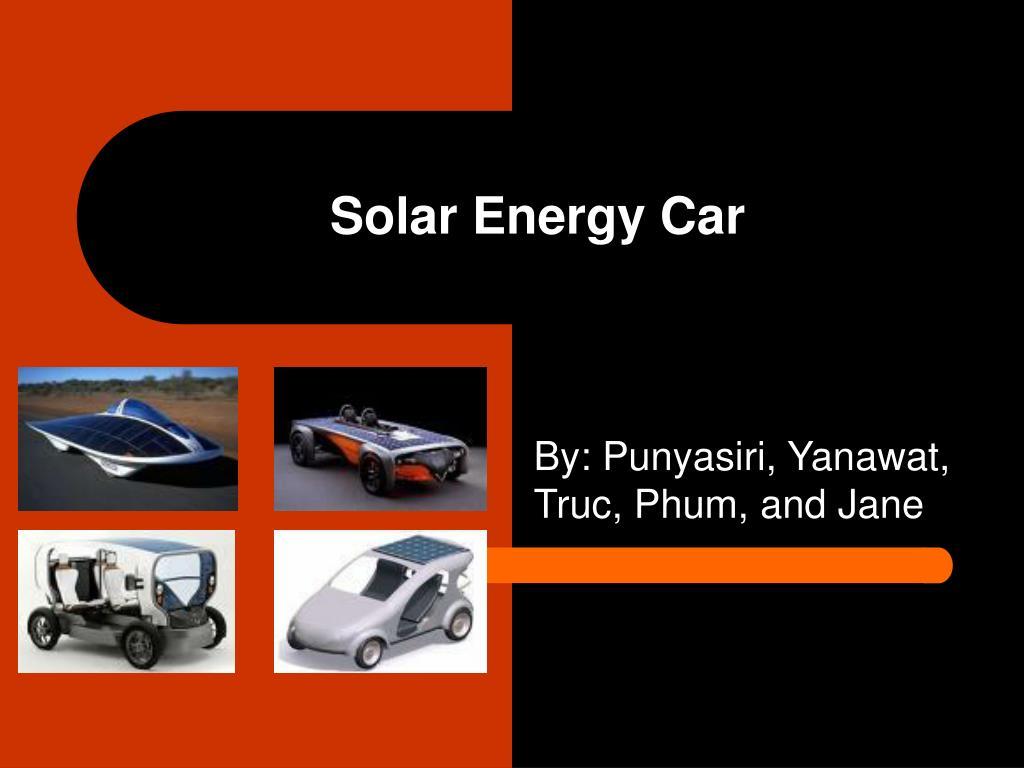 solar energy car l.