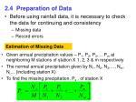2 4 preparation of data