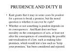 prudence and duty ii