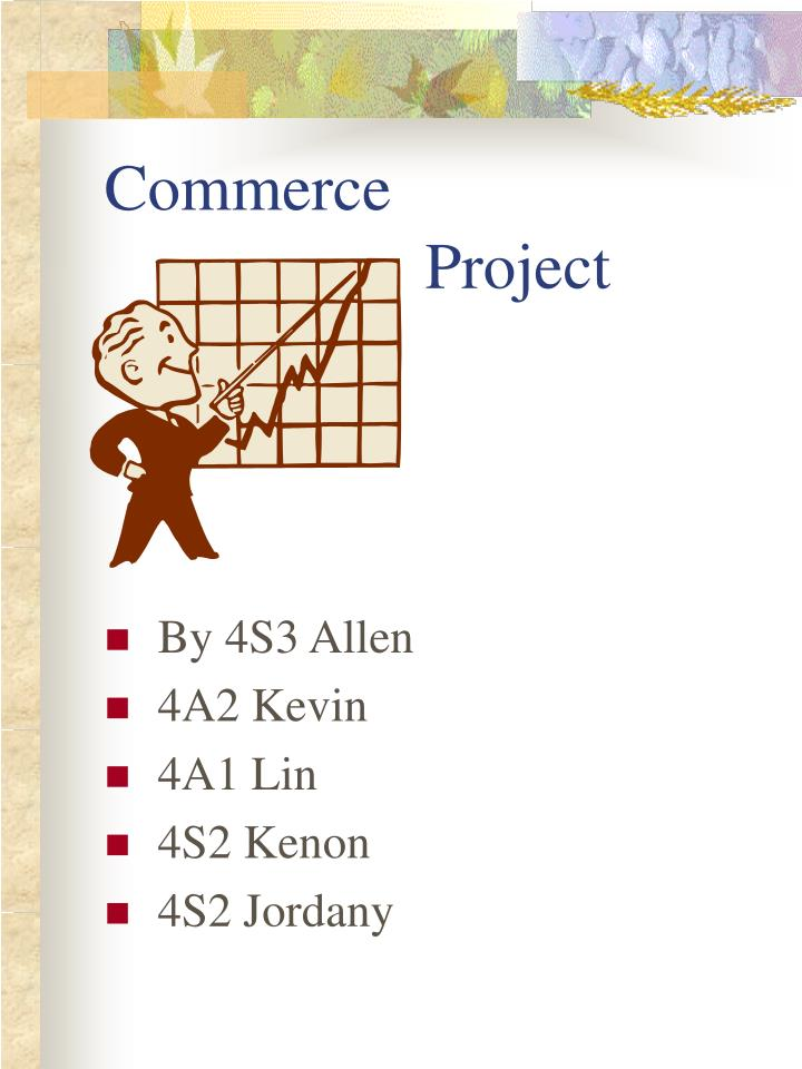 commerce project n.