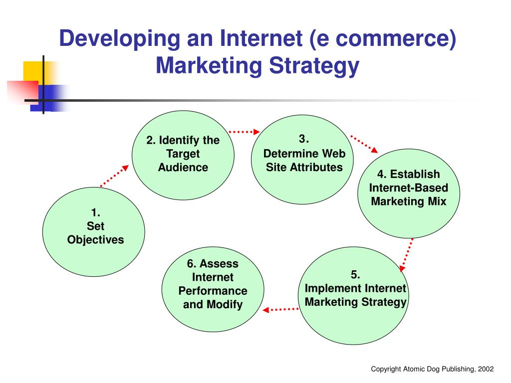 Developing an Internet (e commerce)  Marketing Strategy