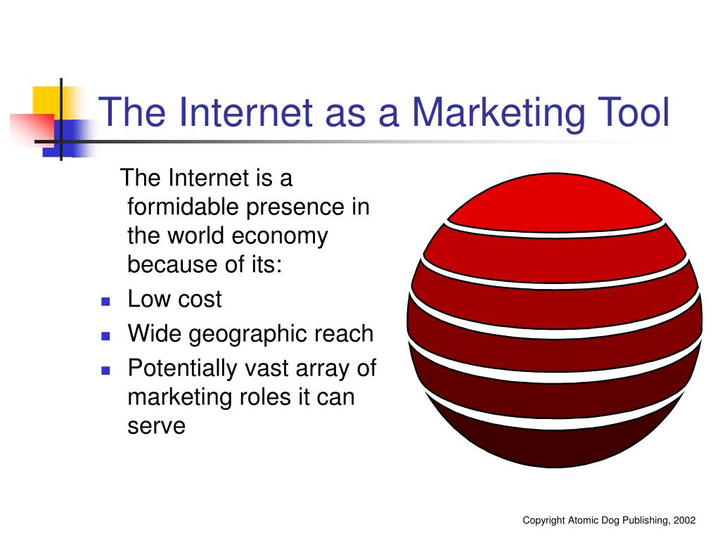 The Internet as a Marketing Tool