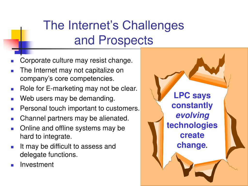 The Internet's Challenges and Prospects