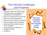 the internet s challenges and prospects