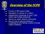 overview of the fcpd