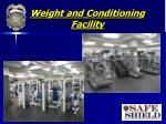 weight and conditioning facility