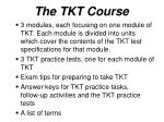 the tkt course19