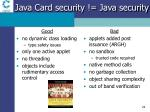 java card security java security