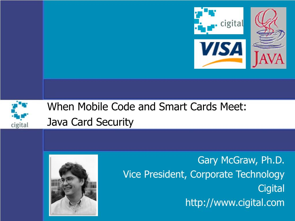 when mobile code and smart cards meet java card security l.