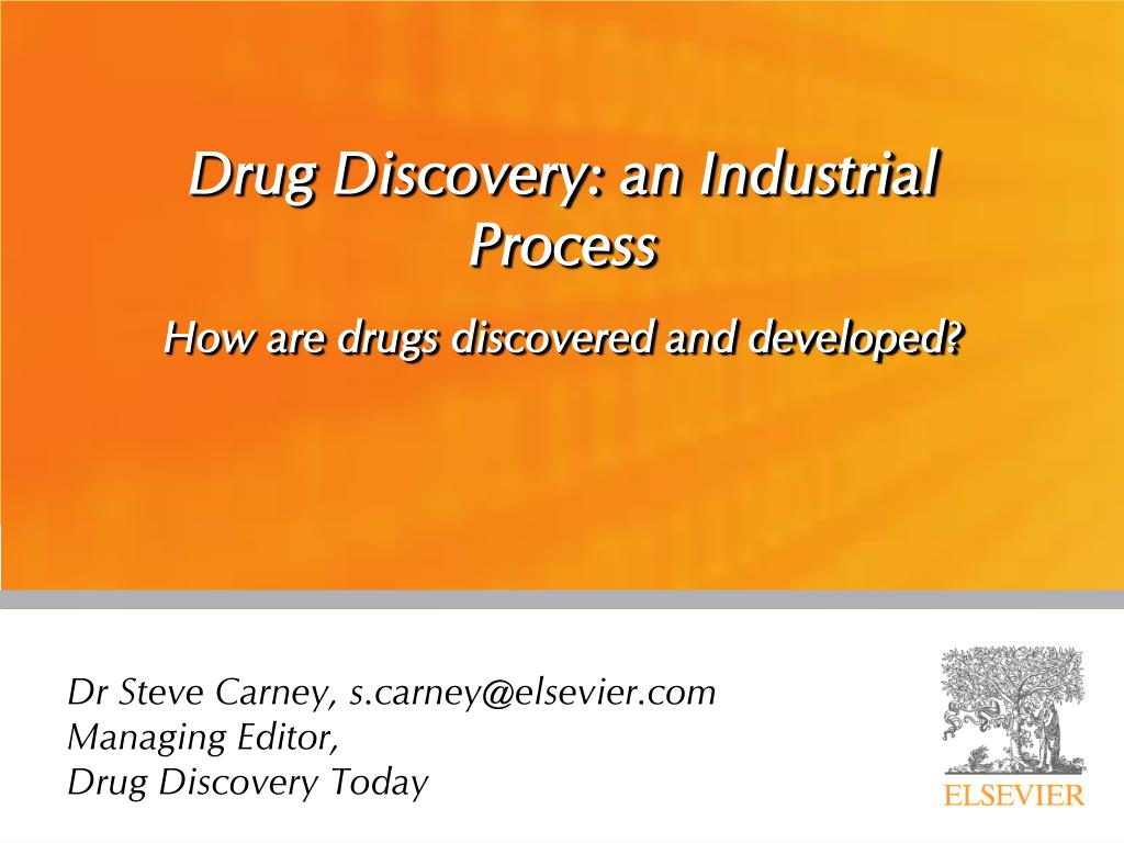 drug discovery an industrial process l.