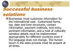 successful business solutions