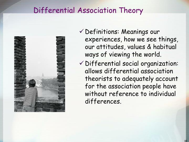 differential association theory definition