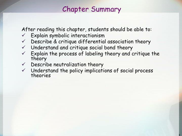 Ppt Chapter 5 Social Process Theories Powerpoint Presentation Id