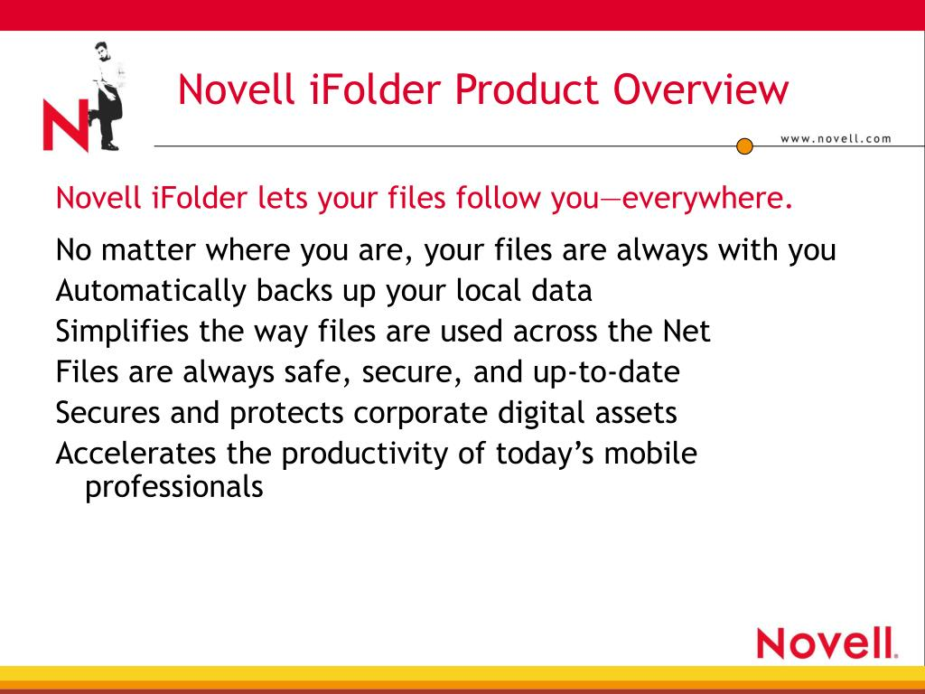 Novell iFolder Product Overview