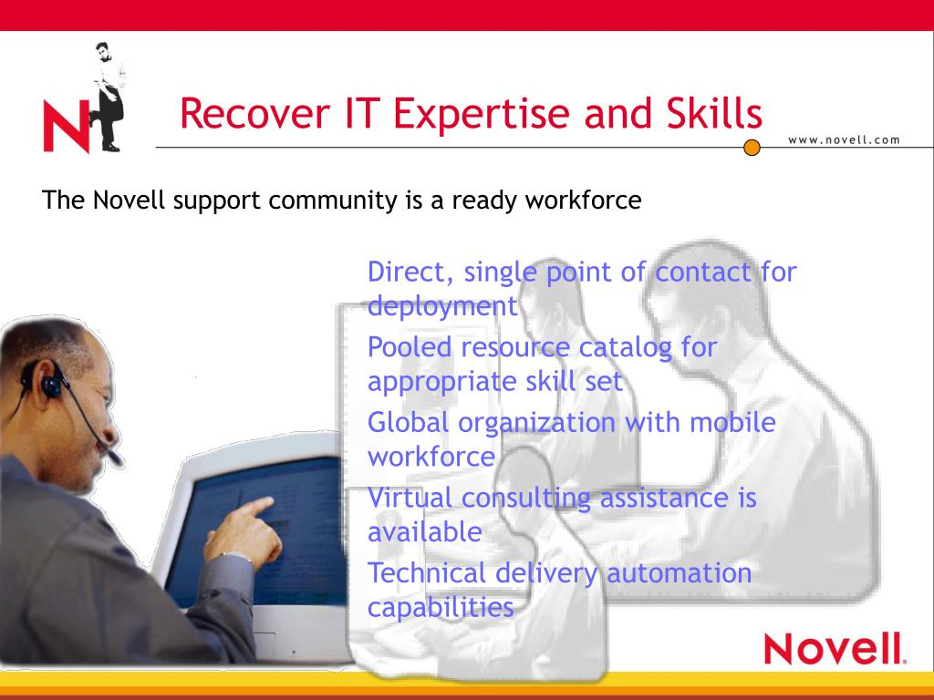 Recover IT Expertise and Skills