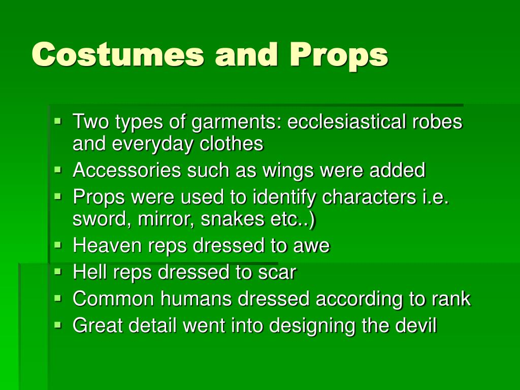 PPT - Medieval Theatre PowerPoint Presentation - ID:227279