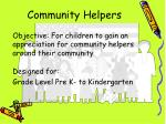 community helpers2
