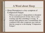 a word about sleep22