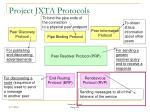 project jxta protocols53