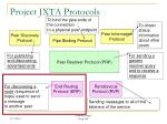project jxta protocols55