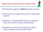 high quality daily physical education21