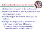lifespan involvement for all people28