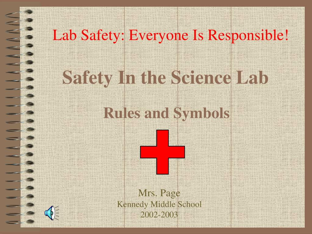 safety in the science lab l.