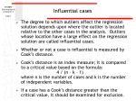 influential cases