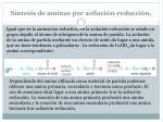 s ntesis de aminas por acilaci n reducci n