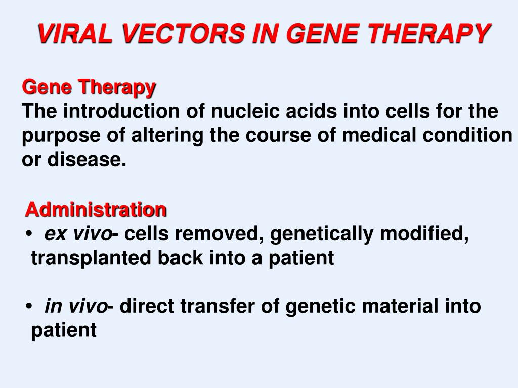 PPT - Gene Therapy - Problems and Challenges PowerPoint
