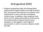 distinguished dap