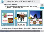 programa nacional de franquicias11