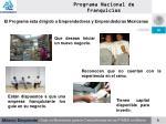 programa nacional de franquicias6