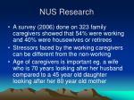 nus research
