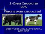 2 dairy character 20