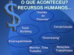 o que aconteceu recursos humanos