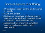 spiritual aspects of suffering