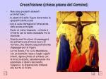 crocefissione chiesa pisana del carmine