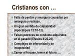 cristianos con