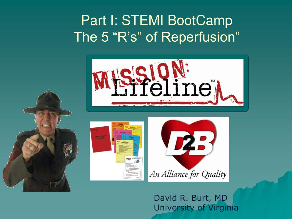 part i stemi bootcamp the 5 r s of reperfusion l.