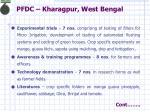 pfdc kharagpur west bengal